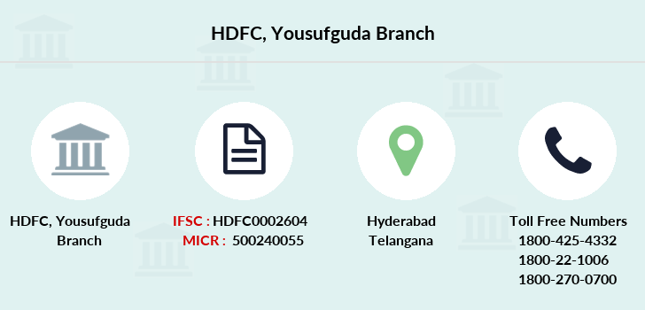 Hdfc-bank Yousufguda branch