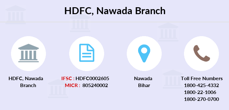 Hdfc-bank Nawada branch