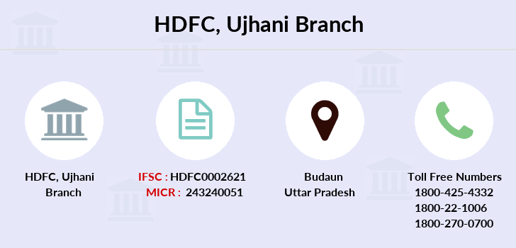 Hdfc-bank Ujhani branch