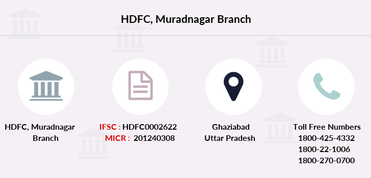 Hdfc-bank Muradnagar branch