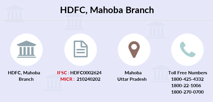Hdfc-bank Mahoba branch