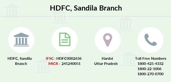 Hdfc-bank Sandila branch