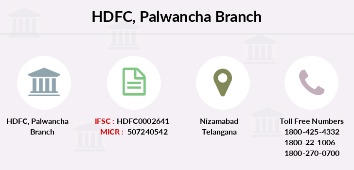 Hdfc-bank Palwancha branch