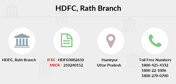 Hdfc-bank Rath branch