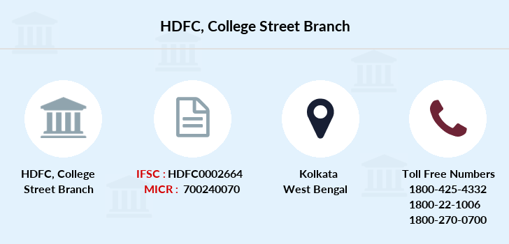 Hdfc-bank College-street branch
