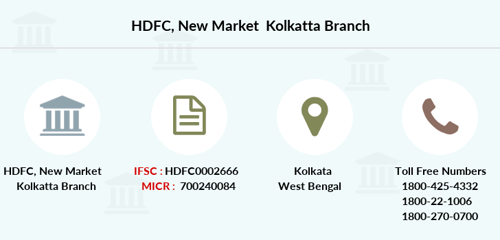 Hdfc-bank New-market-kolkatta branch