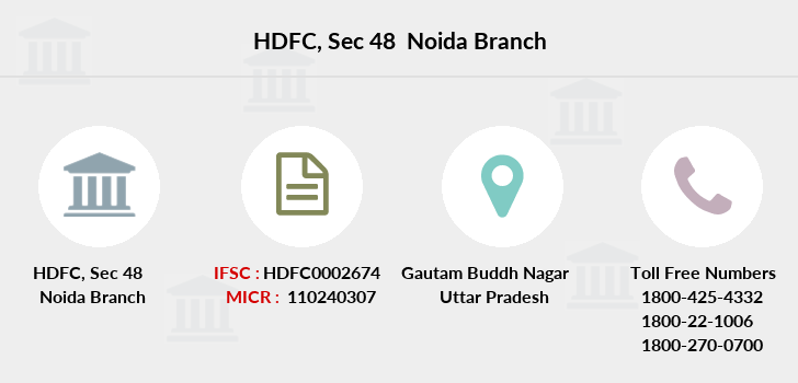 Hdfc-bank Sec-48-noida branch