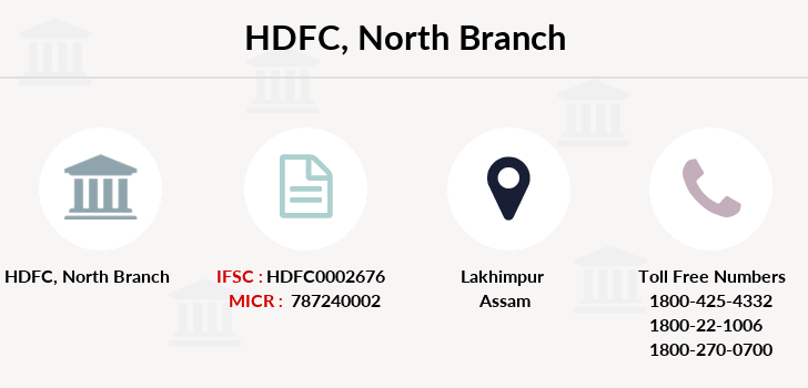 Hdfc-bank North branch