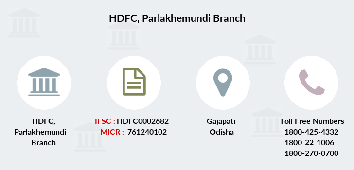 Hdfc-bank Parlakhemundi branch