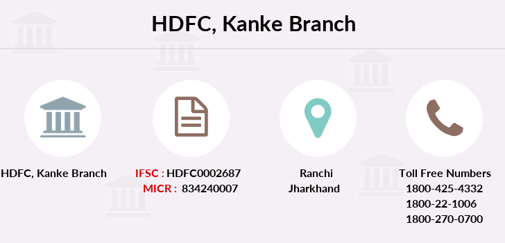 Hdfc-bank Kanke branch