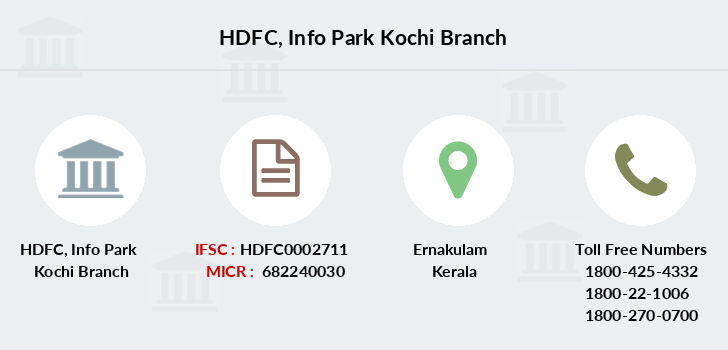 Hdfc-bank Info-park-kochi branch