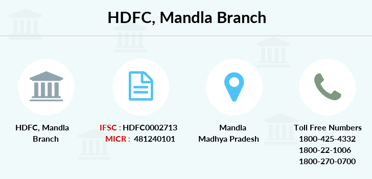 Hdfc-bank Mandla branch