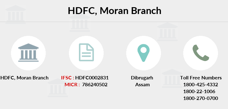 Hdfc-bank Moran branch