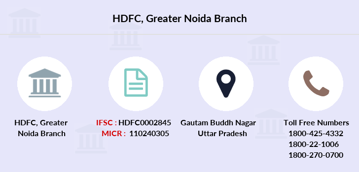Hdfc-bank Greater-noida branch