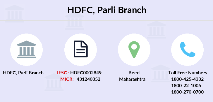 Hdfc-bank Parli branch