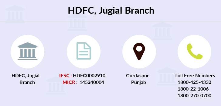 Hdfc-bank Jugial branch