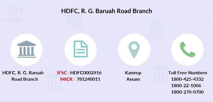 Hdfc-bank R-g-baruah-road branch