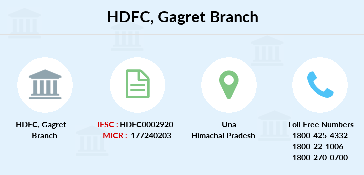 Hdfc-bank Gagret branch
