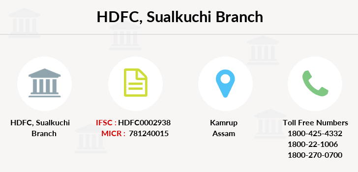 Hdfc-bank Sualkuchi branch