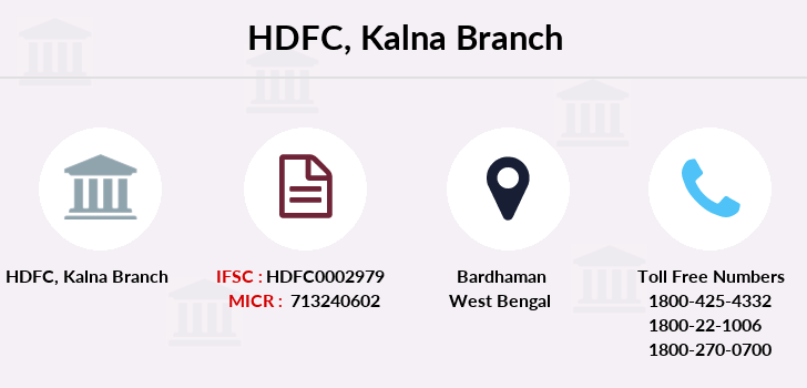 Hdfc-bank Kalna branch
