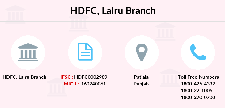 hdfc bank number of branches