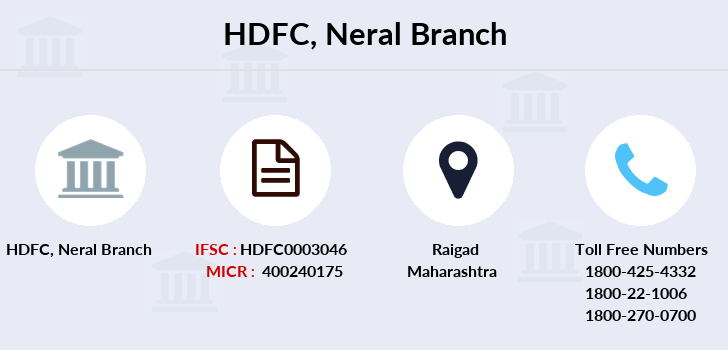 Hdfc-bank Neral branch