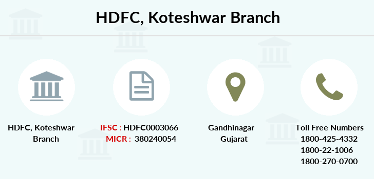 Hdfc-bank Koteshwar branch