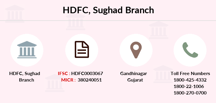 Hdfc-bank Sughad branch