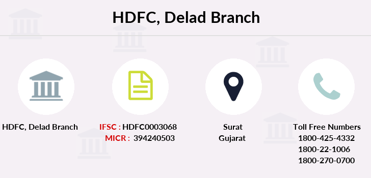Hdfc-bank Delad branch