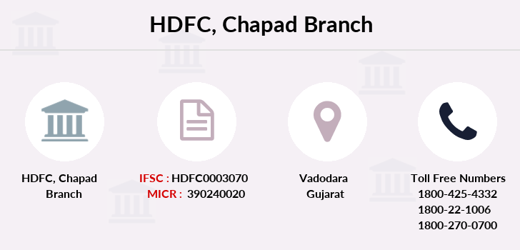 Hdfc-bank Chapad branch