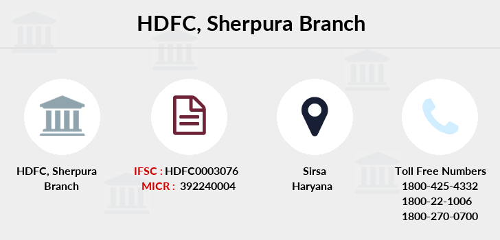 Hdfc-bank Sherpura branch