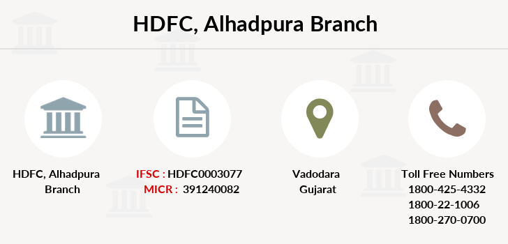 Hdfc-bank Alhadpura branch