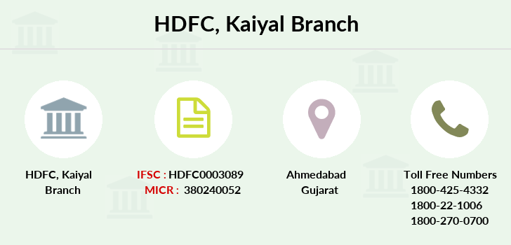 Hdfc-bank Kaiyal branch
