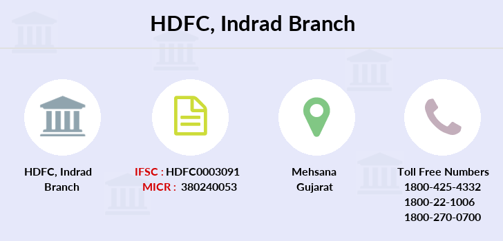 Hdfc-bank Indrad branch