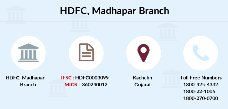 Hdfc-bank Madhapar branch