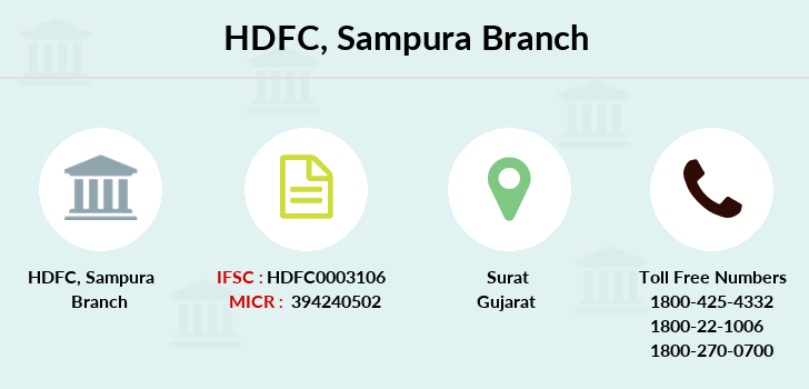 Hdfc-bank Sampura branch