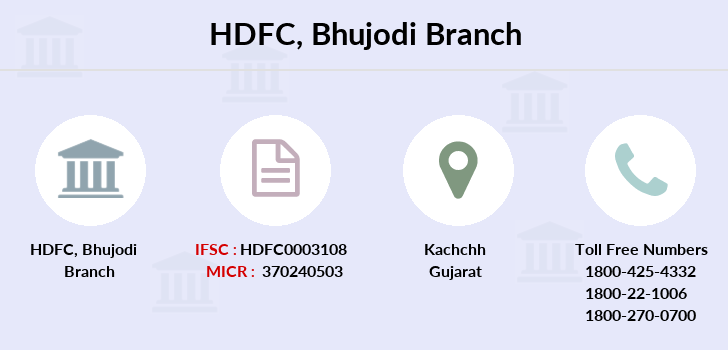 Hdfc-bank Bhujodi branch
