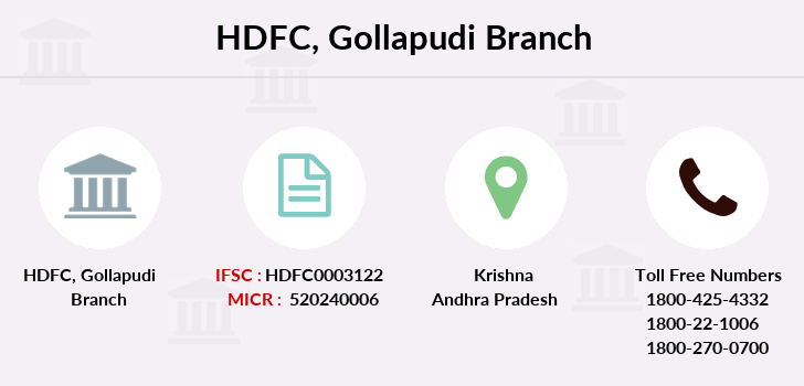 Hdfc-bank Gollapudi branch
