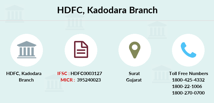 Hdfc-bank Kadodara branch