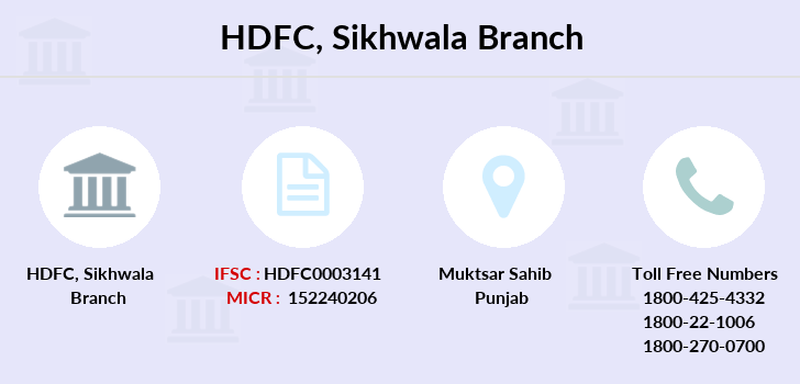 Hdfc-bank Sikhwala branch