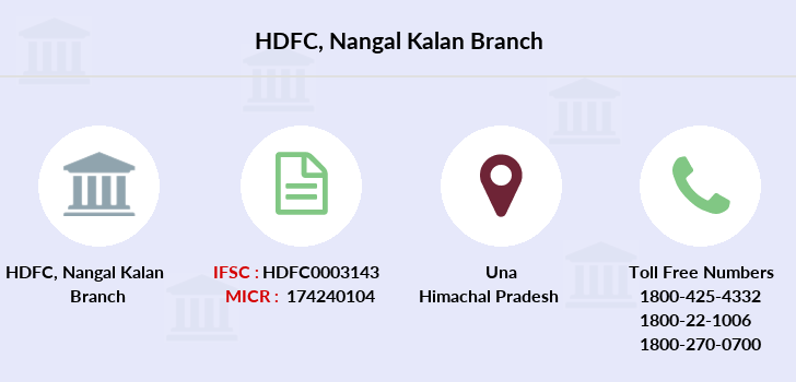 Hdfc-bank Nangal-kalan branch