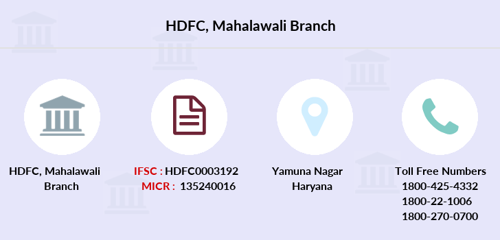 Hdfc-bank Mahalawali branch