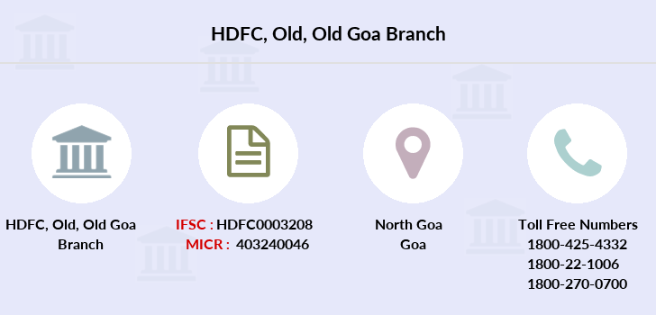 Hdfc-bank Old-old-goa branch