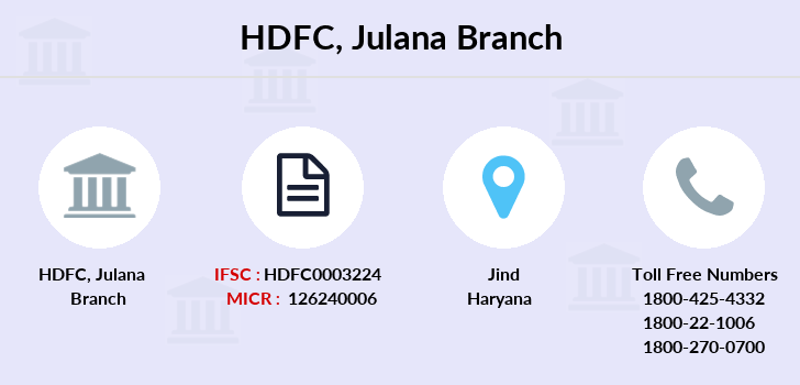 Hdfc-bank Julana branch