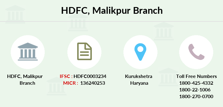 Hdfc-bank Malikpur branch