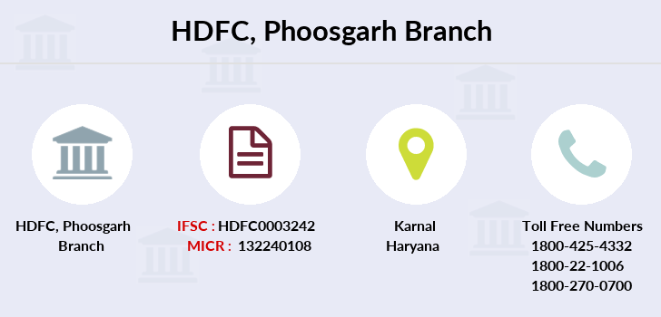 Hdfc-bank Phoosgarh branch