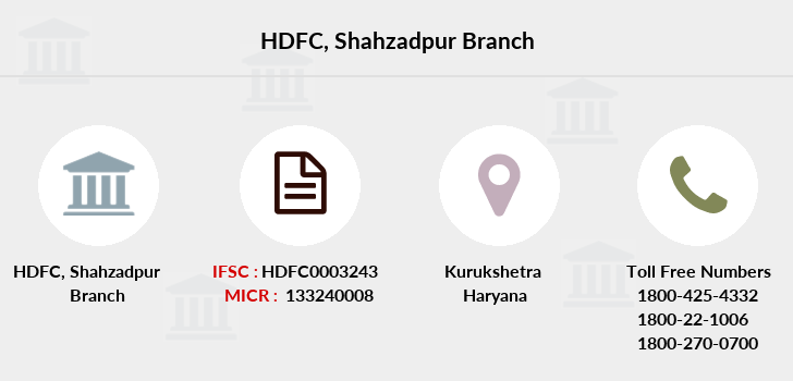 Hdfc-bank Shahzadpur branch