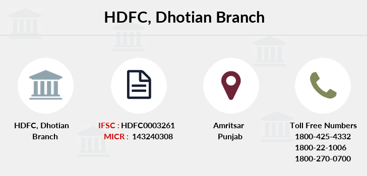 Hdfc-bank Dhotian branch