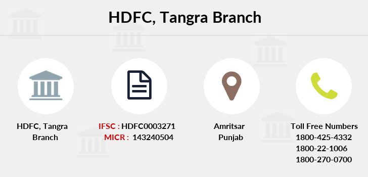 Hdfc-bank Tangra branch