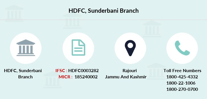 Hdfc-bank Sunderbani branch